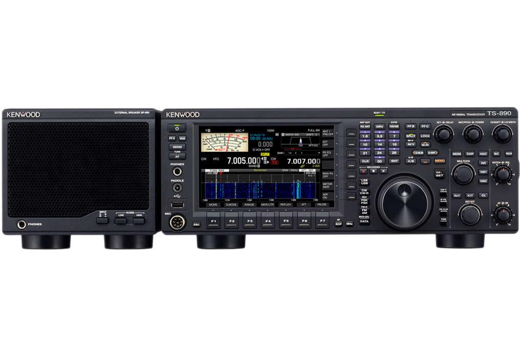 TS-890S mit Lautsprecher
