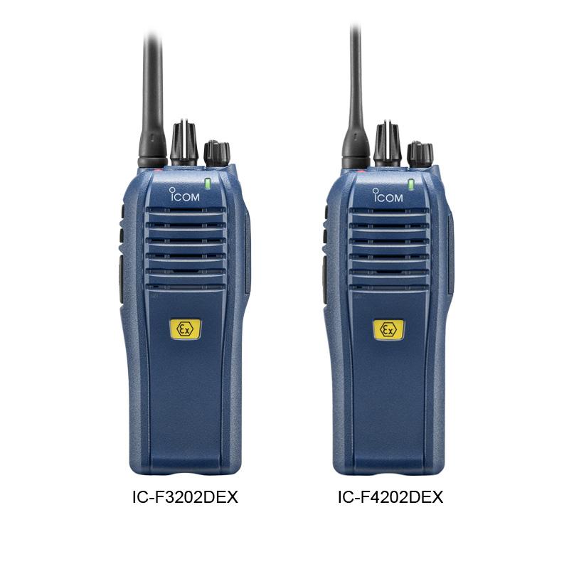 ICOM F3202DEX F4202DEX